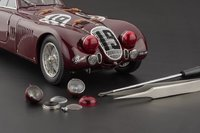 Alfa Romeo 8C 2900B,  #19, 1938 Le Mans, Limited Edition of 3,000 pcs Diecast Model Car by CMC in 1:18 Scale