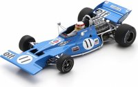 Tyrrell 003 No.11 Winner Monaco GP 1971 Jackie Stewart in 1:43 scale by Spark
