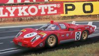 1970 Ferrari 512S Longtail Le Mans Masterpiece Collection in 1:18 Scale
