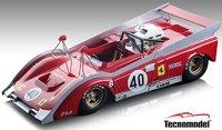 Ferrari 712 #40  Can Am Watkins Glen 1972 Team NART in 1:18 Scale by Tecnomodel