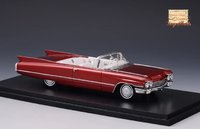 1960 Cadillac Series 62 Convertible Open top in 1:43 Scale by Stamp Models