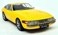 1969 Ferrari 365 GTB/4 Yellow in 1:18 scale by KK Diecast