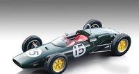 Lotus 21 1961 Winner, American GP Driver Innes Ireland in 1:18 scale by Tecnomodel