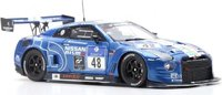 Nissan GT-R No.48 24H 2016 in 1:43 Scale by Spark