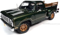 1977 Dodge Pick up Step Side Warlock in 1:18 Scale by Auto World
