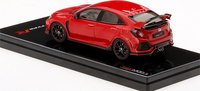 Honda Civic Type R  Rallye Red LHD Diecast in 1:43 Scale by TSM