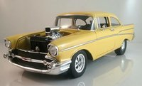 1957 Chevy HOLLYWOOD KNIGHTS TRIBUTE EDITION by Acme in 1:18 Scale