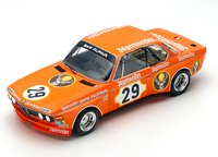 BMW 3.0 CSL #29 Lauda, Joiston Winner 24H Nurburgring 1973 in 1:18 scale by Spark