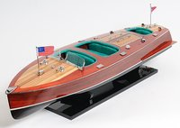 Chris Craft Triple Cockpit Painted L80 by Old Modern Handicrafts