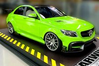 DarwinPRO Widebody Mercedes-Benz C63s AMG Green in 1:18 scale by GLM