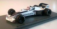 Brabham BT52 #5 Winner Brazilian GP 1983 Nelson Piquet in 1:43 Scale by Spark
