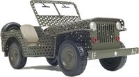 1945 Willys CJ-2A Overland Open Frame Jeep Model 1:12 scale  by Old Modern Handicrafts