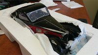 Bugatti Atalante Type 57SC Model Car by Bauer in 1:12 Scale