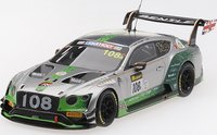 Bentley Continental GT3 #108 2019 Liqui-Moly Bathurst 12 Hour in 1:43 Scale by Truescale Miniatures