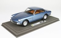 1965 Ferrari 330 GT 2 + 2 Series 2 single light in Blue, 1:18 scale by BBR