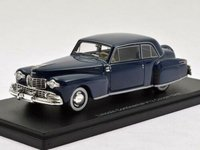 1948 Lincoln Continental V12 in Blue in 1:43 Scale by Neo