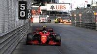 Scuderia Ferrari SF21 No.55 2nd Monaco GP 2021 in 1:18 scale by Looksmart