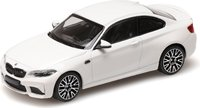 2019 BMW M2 Competition, white in 1:43 scale by Minichamps
