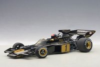 1973 Lotus 72E Emerson Fittipaldi #1 w Driver Composite Model Car in 1:18 Scale by AUTOart