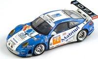 Porsche 997 GT3 RSR Larbre Competition, No.70, Le Mans 2011 2nd GTE AM, Bourret - Gibon - Belloc Diecast Model Car by Spark in 1:43 Scale