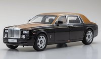 Rolls-Royce Phantom EWB Diamond Black in 1:18 Scale by Kyosho