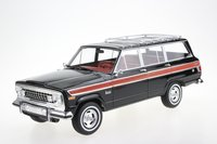 1963 Jeep Wagoneer Black in 1:18 scale by LS Collectibles
