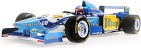 1995 Benetton Ford B195 Michael Schumacher Winner German GP in 1:18 scale by Minichamps