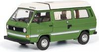 VW T3a Camper Joker Green in 1:18 Scale by Schuco