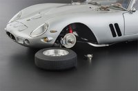 1962 Ferrari 250 GTO in Silver Diecast car model by CMC in 1:18 Scale PRESS SAMPLE