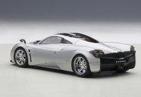 Pagani Huayra in Metallic Silver Model Car in 1:43 Scale by AUTOart