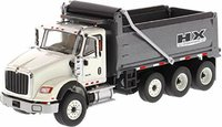 International HX620 Dump Truck by Diecast Masters in 1:50 Scale