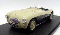 1955 Austin Healey 100S in Blue Resin Model in 1:18 Scale by Cult Models