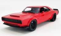 Dodge Super Charger Concept Red Dealer Exclusive in 1:18 Scale by GT Spirit
