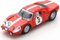 PORSCHE 904 GTS NO.3 RALLYE DES ROUTES in 1:43 scale by Spark