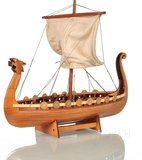 Drakkar Viking 12.5 inches in 1:8 Scale by Old Modern Handicrafts