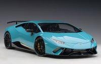 Lamborghini Huracan Performante Blue 1:12 Scale By AUTOart