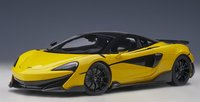 McLaren 600LT Yellow in 1:18 Scale by AUTOart