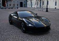 Ferrari Roma Gloss Black in 1:43 scale by BBR