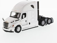 """Freightliner Cascadia SBFA Tandem with 72"""" Sleeper Pearl White in 1:50 scale by Diecast Masters"""