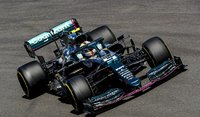 Aston Martin AMR21 No.5 Italian GP 2021 Sebastian Vettel in 1:43 scale by Spark