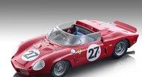 Ferrari Dino 268 SP #27 24h Le Mans 1962 in 1:18 scale by Tecnomodel