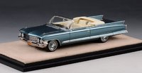 1962 Series 62 Convertible Neptune Blue Metallic Open Top in 1:43 scale by Stamp Models