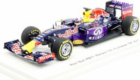 2015 Red Bull RB11 # 3 Infiniti Red Bull Racing, Daniel Ricciardo Model Car in 1:43 Scale by Spark