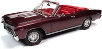 1967 Chevrolet Chevelle SS 396 Convertible in 1:18 Scale by Auto World
