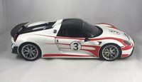Porsche 918 Spyder Weissach Package Resin Model Car in 1:12 Scale by GT Spirit