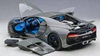 Bugatti Chiron 2017, Jet Grey in 1:12 scale by AUTOart