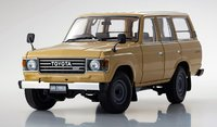 TOYOTA Land Cruiser 60 in beige 1:18 Scale by Kyosho