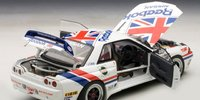 1990 Nissan Skyline GT-R  (R32) Group A Reebok  #1 Diecast Model Car in 1:18 Scale by AUTOart