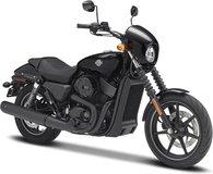 2015 Harley Davidson Street 750 in 1:12 scale in Maisto