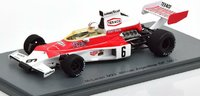 1974 McLaren M23 Winner GP Argentina Denny Hulme in 1:43 Scale by Spark